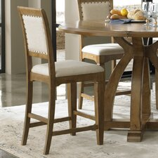 "Town and Country 24"" Counter Bar Stool with Cushion (Set of 2)"