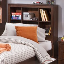 <strong>Liberty Furniture</strong> Chelsea Square Youth Bedroom Bookcase Headboard in Burnished Tobacco