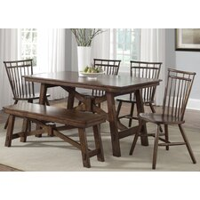 Creations II Casual 6 Piece Dining Set