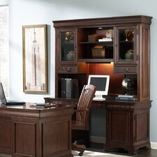 Junior Executive Credenza with Optional Hutch