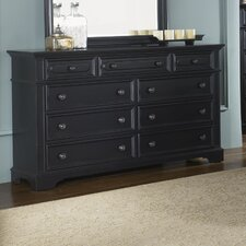 Carrington II Bedroom 9 Drawer Dresser