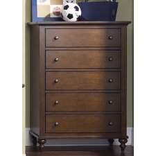 <strong>Liberty Furniture</strong> Abbott Ridge 5 Drawer Chest
