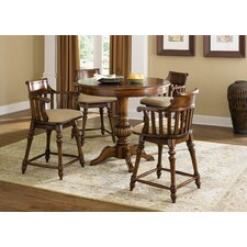 <strong>Liberty Furniture</strong> Crystal Lakes 5 Piece Counter Height Dining Set