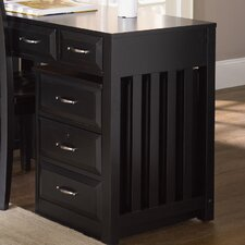 Hampton Bay Mobile File Cabinet in Black