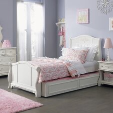 <strong>Liberty Furniture</strong> Arielle Bed in Antique White