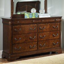 <strong>Liberty Furniture</strong> Alexandria 8 Drawer Dresser