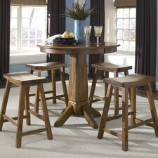 <strong>Liberty Furniture</strong> Creations II Casual Dining 5 Piece Counter Height Dining Set