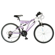 Girl's Ranger Dual Suspension Off-Road Bike