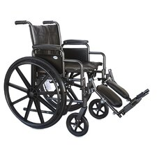 Dual Axle Standard Bariatric Wheelchair