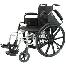 Deluxe Lightweight Bariatric Wheelchair