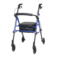 Adjustable Loop Brake Pouch Padded Seat Rollator Rolling Walker