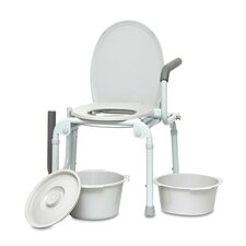 Deluze Drop Arm Commode