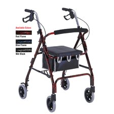 <strong>ProBasics</strong> Aluminum Rollator with Loop Brakes