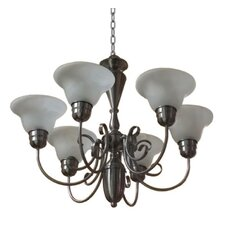 <strong>Yosemite Home Decor</strong> Aspen 6 Light Chandelier