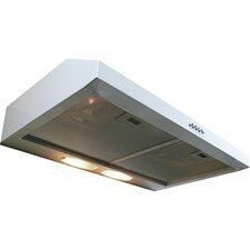 "Builder Series 29.5"" 190 CFM Undercabinet Range Hood with Internal Blower"