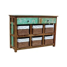2 Drawer / 6 Block Cabinet