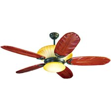 """56"""" Maui Breezes 5 Blade Ceiling Fan with Remote"""