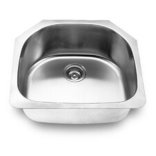 "23.63"" x 21"" Undermount Kitchen Sink"