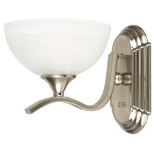 <strong>Yosemite Home Decor</strong> Glacier Point 1 Light Wall Sconce