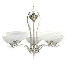 <strong>Yosemite Home Decor</strong> Glacier Point 5 Light Chandelier