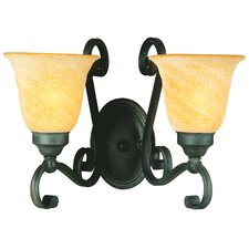 Noreen 2 Light Wall Sconce