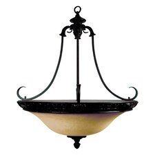 <strong>Yosemite Home Decor</strong> Verona 4 Light Foyer Inverted Pendant