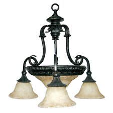 <strong>Yosemite Home Decor</strong> Verona 5 Light Chandelier