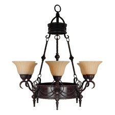 <strong>Yosemite Home Decor</strong> Isabella 6 Light Chandelier