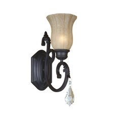 <strong>Yosemite Home Decor</strong> Jessica 1 Light Wall Sconce