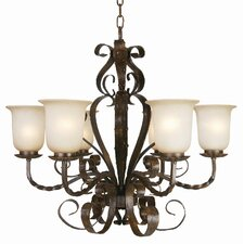 <strong>Yosemite Home Decor</strong> McKensi 6 Light Chandelier