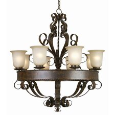 <strong>Yosemite Home Decor</strong> McKensi 8 Light Chandelier