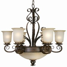 <strong>Yosemite Home Decor</strong> McKensi 9 Light Chandelier