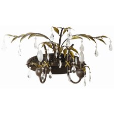 New Plantation 2 Light Vanity Light