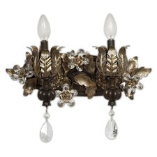 <strong>Yosemite Home Decor</strong> Splendido 2 Light Vanity Light