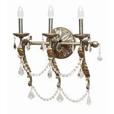 <strong>Yosemite Home Decor</strong> Swag 3 Light Vanity Light