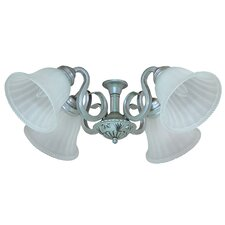 <strong>Yosemite Home Decor</strong> Queenie  Four Light Ceiling Fan Light Kit