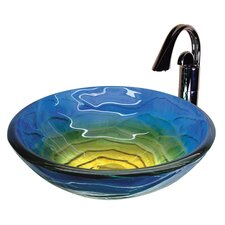 Round Glass Bathroom Sink