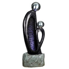 <strong>Yosemite Home Decor</strong> Two-Headed Fountain