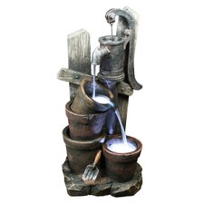 <strong>Yosemite Home Decor</strong> Two Bucket Water Well Fountain