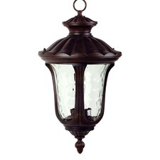 <strong>Yosemite Home Decor</strong> Tori 3 Light Outdoor Hanging Lantern