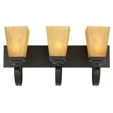 <strong>Yosemite Home Decor</strong> Nevada Falls 3 Light Vanity Light
