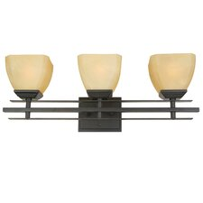 <strong>Yosemite Home Decor</strong> Half Dome 3 Light Bath Vanity Light