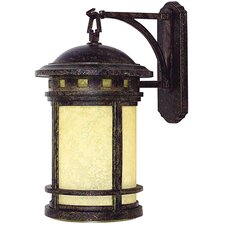 <strong>Yosemite Home Decor</strong> Sahara 1 Light Outdoor Wall Lantern