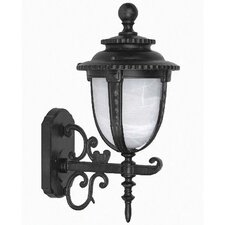 <strong>Yosemite Home Decor</strong> Brina 1 Light Outdoor Wall Lantern