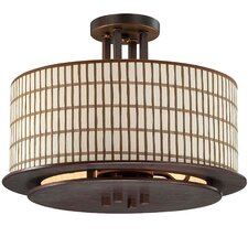 Sorrel 3 Light Semi-Flush Mount