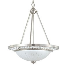 <strong>Yosemite Home Decor</strong> Cascade 3 Light Foyer Pendant