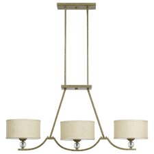 <strong>Yosemite Home Decor</strong> Lewisia 3 Light Kitchen Pendant