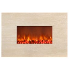 <strong>Yosemite Home Decor</strong> Stone Wall Mounted Electric Fireplace