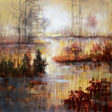 Autumn River Wall Art