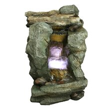 <strong>Yosemite Home Decor</strong> Tiered Rock Fountain